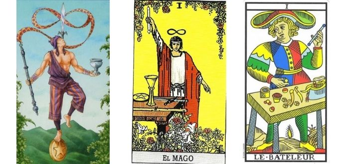 El Mago en El Tarot