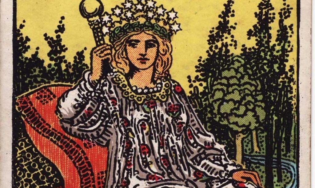 significado de La Emperatriz en el Tarot